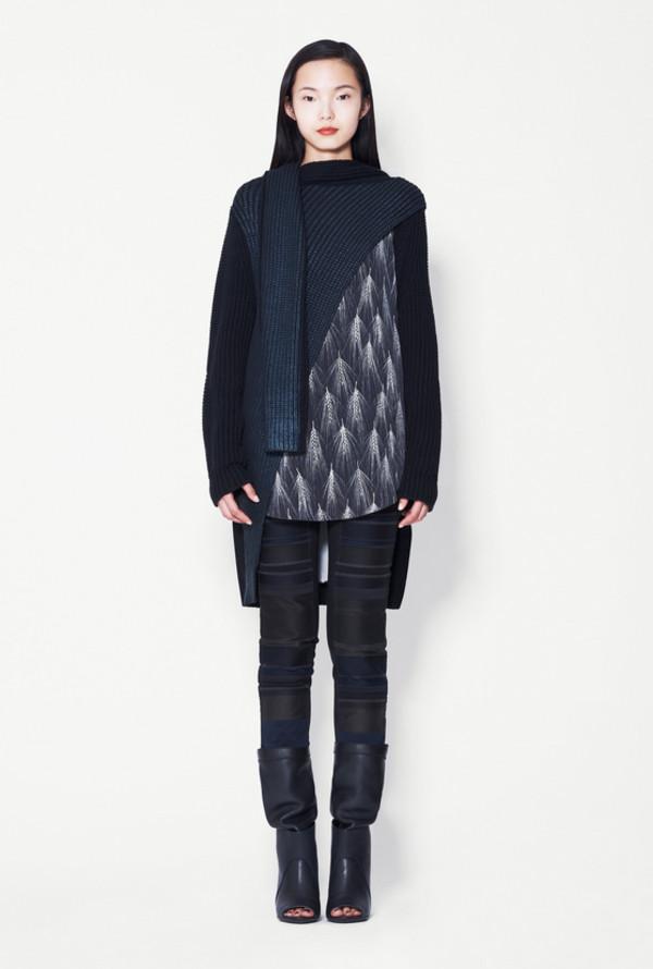 sweater lookbook fashion phillip lim pants shoes