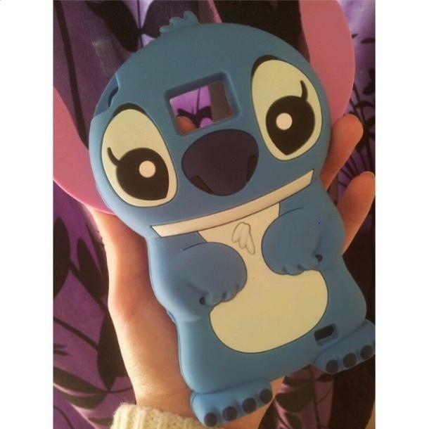 jewels phone phone cover cute stich