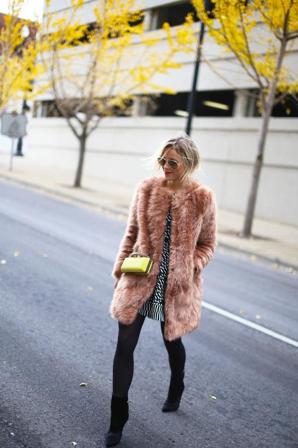 happily grey coat dress shoes bag