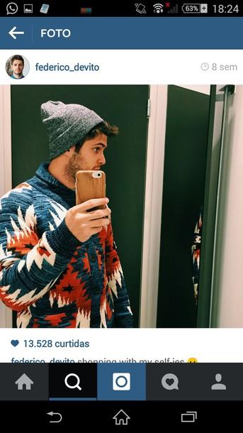 sweater tribal pattern tropical tribal cardigan cardigan tribal sweater pattern patterned sweater