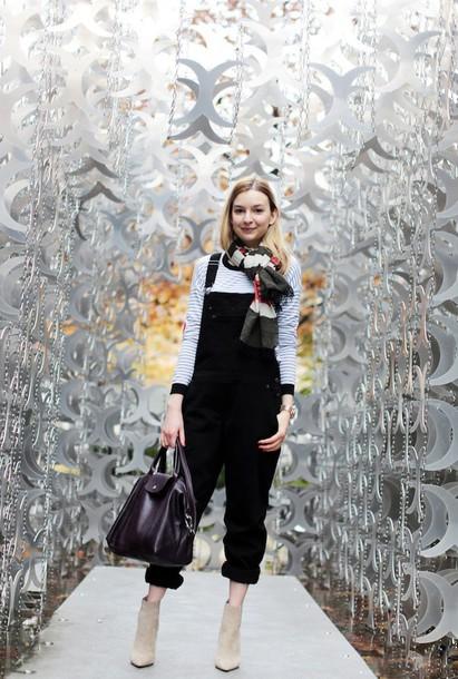 cocos tea party blogger overalls handbag