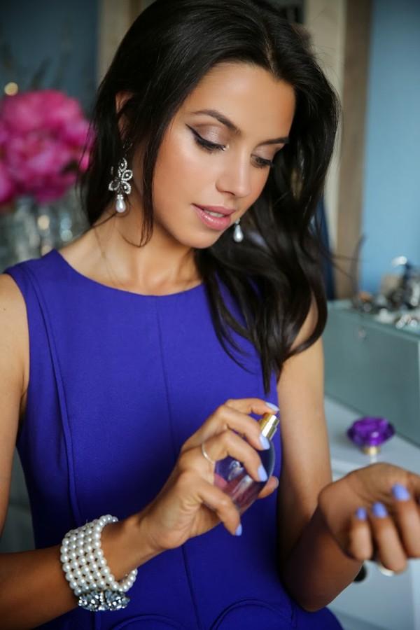 viva luxury dress bag jewels nail polish