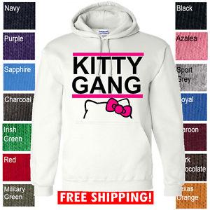 New Kitty Gang Hello Taylor Drake Wiz Khalifa Swag ILLEST Hoodie Sweater Shirt W | eBay