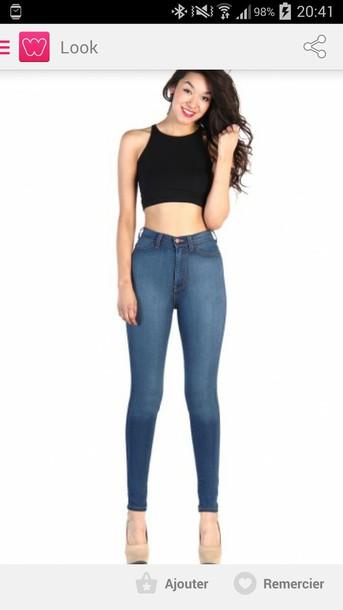 jeans jeans highwaist