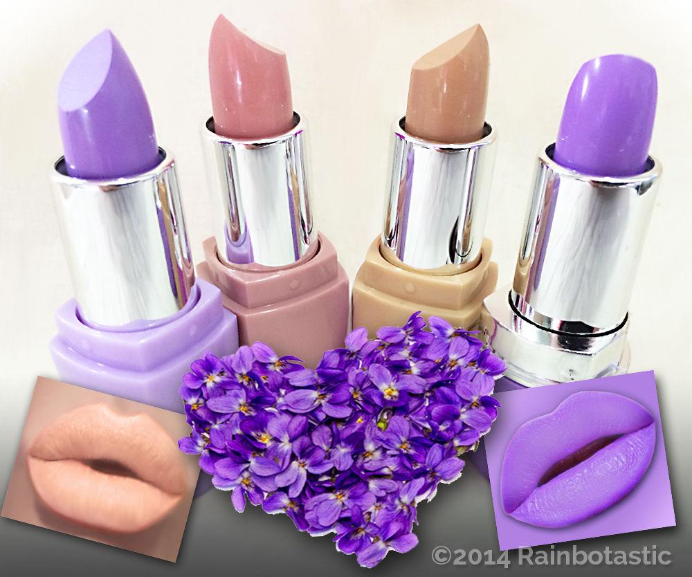 Violet Orchid Nudes Lipstick Set 4 Shade Set | eBay
