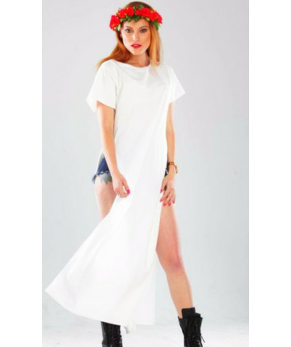 blouse white dress white maxi dress white blouse white shirt t-shirt dress