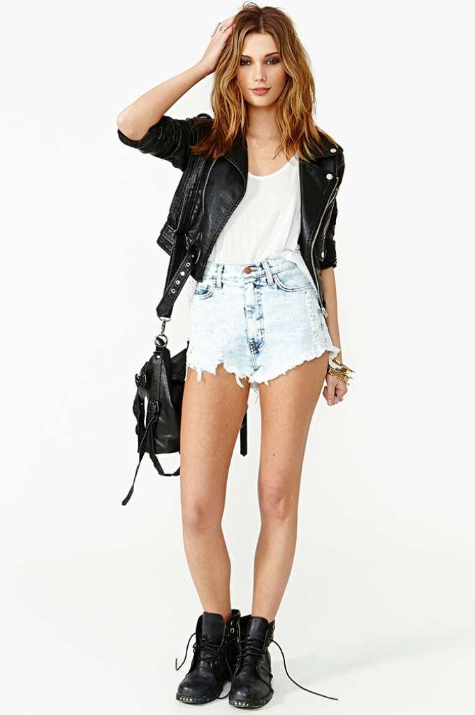 Alva Cutoff Shorts | Shop Shorts at Nasty Gal