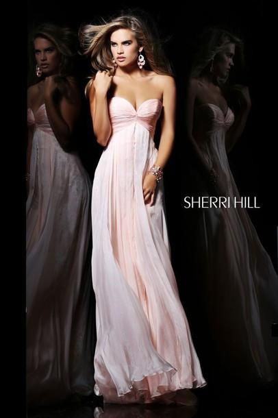 dress prom dress pink dress