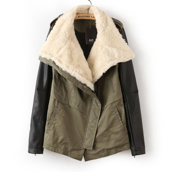 jacket winter outfits coat warm leather parker