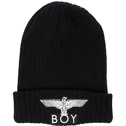 BOY LONDON - Boy Eagle appliqué beanie hat   selfridges.com