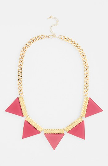 Leith 'Triangle' Statement Necklace | Nordstrom