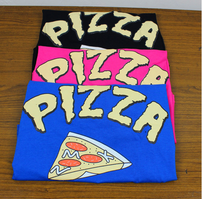 Free shipping!3 color Purple Blue Black Pizza Crop Top T-shirt · ego_superman · Online Store Powered by Storenvy