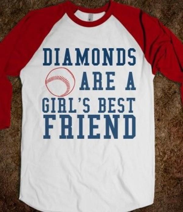 shirt baseball tee diamonds baseball