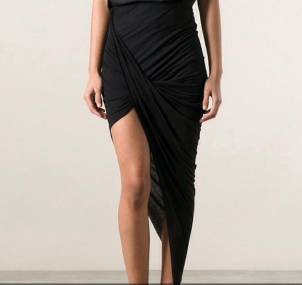 skirt asymmetrical skirt draped