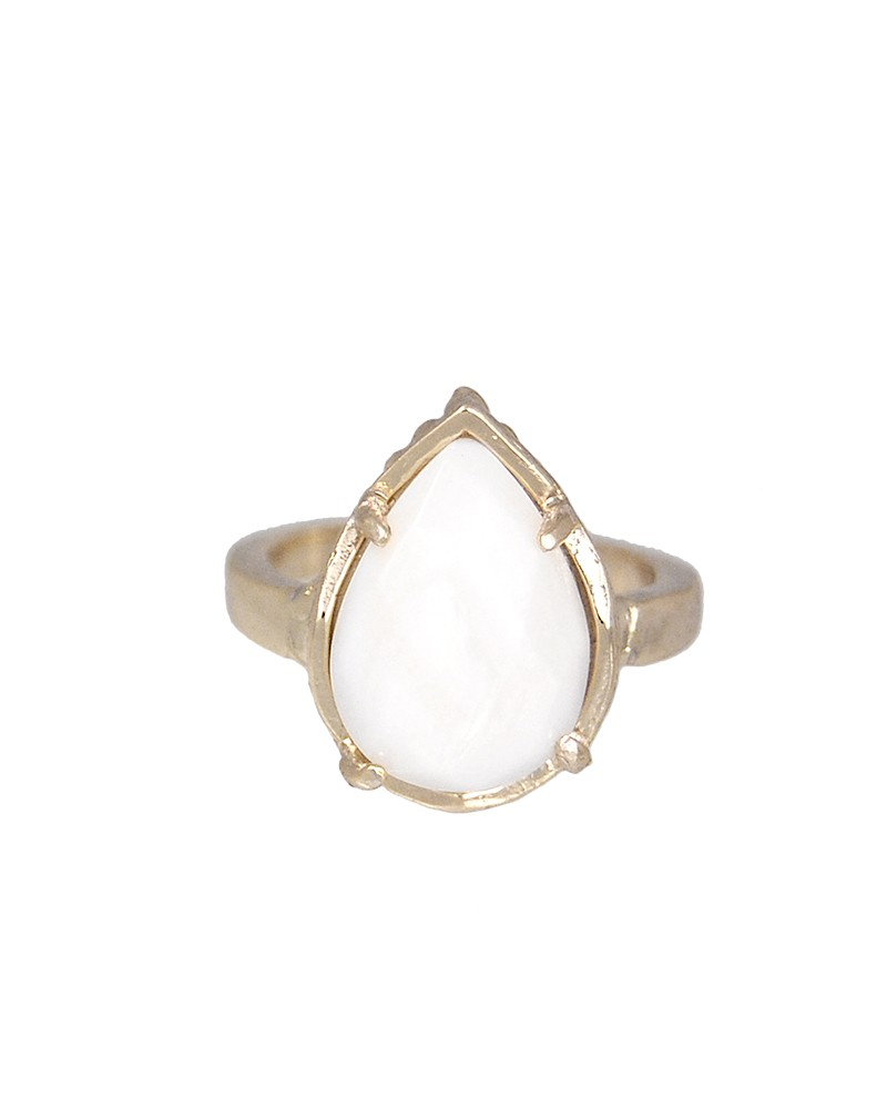 Daisy Ring in White Pearl - Kendra Scott Jewelry