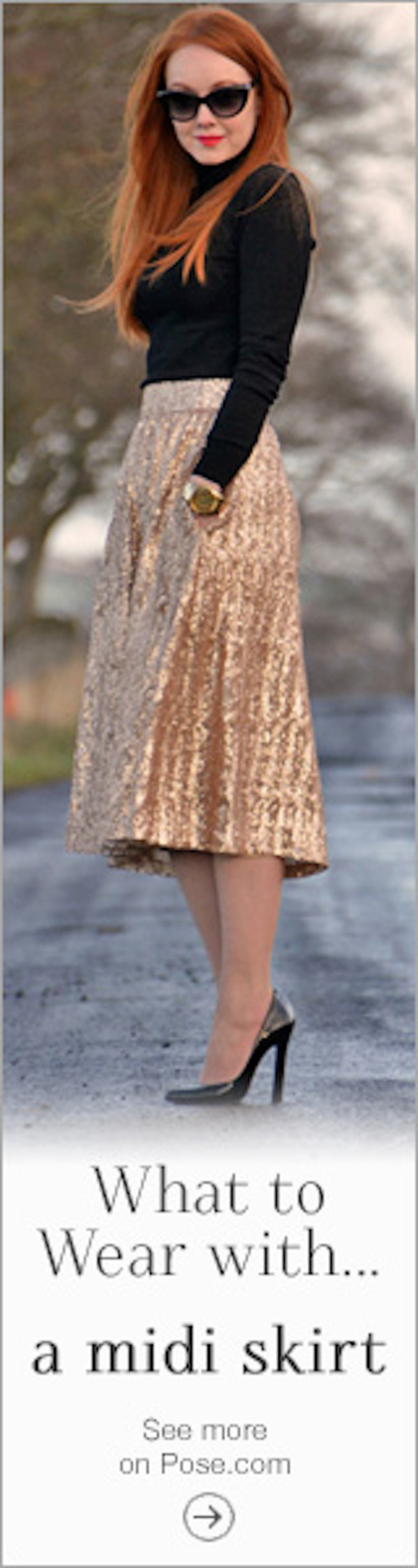 skirt clothes gold
