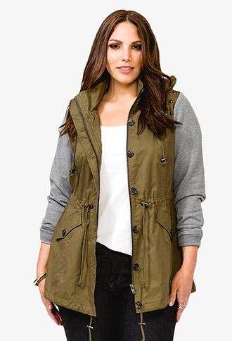Studded Utility Jacket | FOREVER 21 - 2044963015