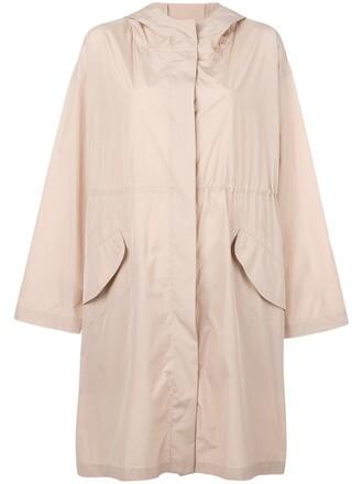 parka women purple pink coat