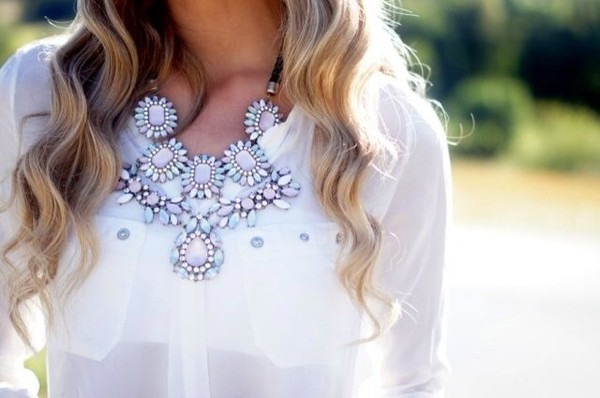 jewels summer spring chic cut out maxi dress necklace jewerly