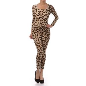 Leopard Catsuit  - Status Runway
