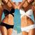 Ladies Sexy 2 PCS Black or White Women Swimwear Swimsuit Trikini Bikini Beachwear 1pcs/lot Free Shipping-in Bikinis Set from Apparel & Accessories on Aliexpress.com