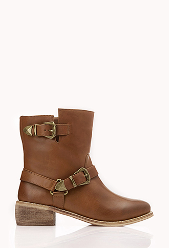 Biker Babe Booties   FOREVER21 - 2000110651