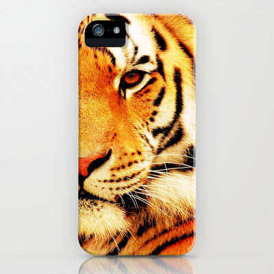 Eye of Tiger - for iphone iPhone & iPod Case by Simone Morana Cyla | Society6