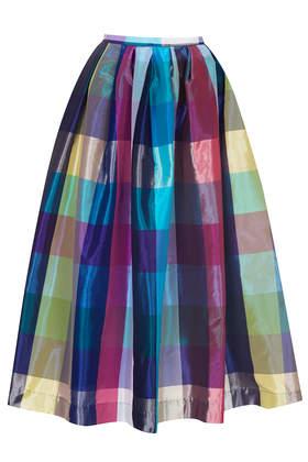 **Limited Edition Taffeta Picnic Midi Skirt - Skirts - Clothing - Topshop USA