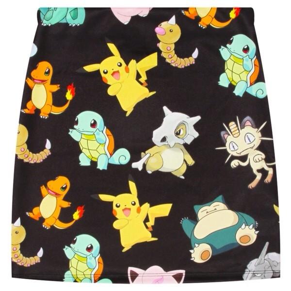 skirt cute pokemon pikachu pencil skirt