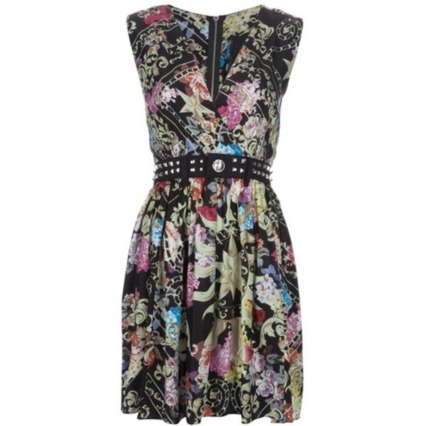 dress short dress colorful dress