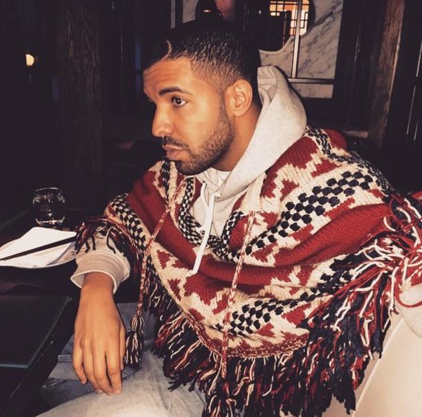 poncho drake aztec menswear jacket