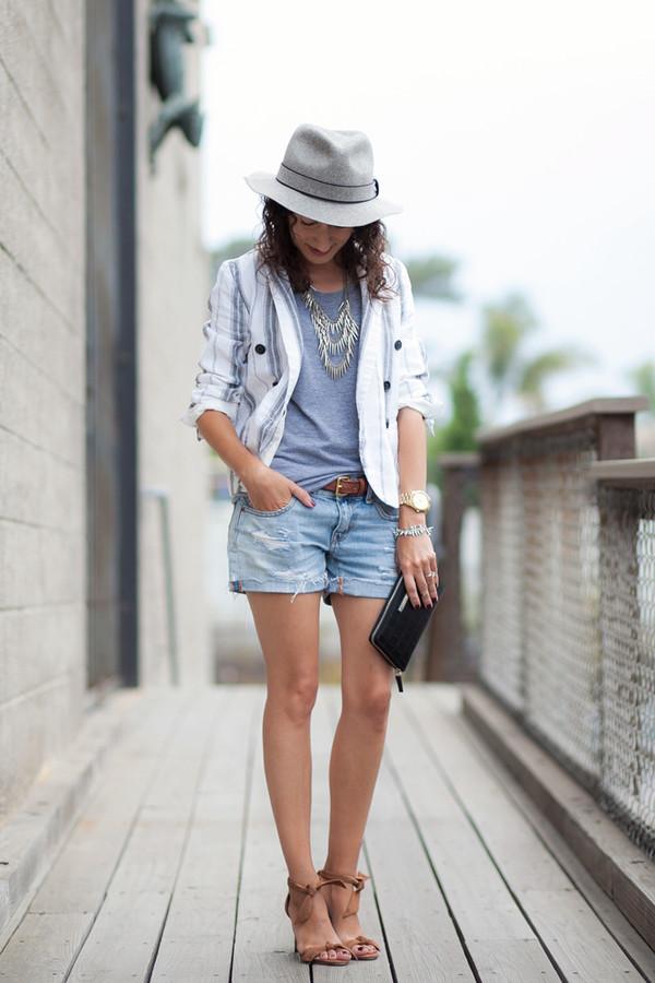 alterations needed jacket jewels shorts