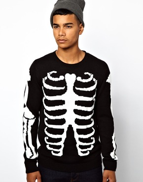 ASOS | ASOS Skeleton Jumper at ASOS