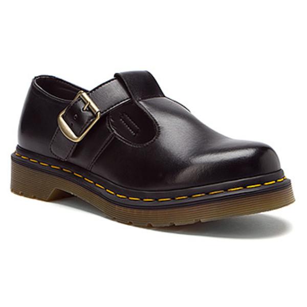 shoes black buckles DrMartens cute