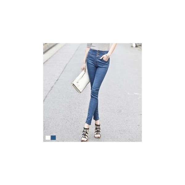 High-Waist Jeans - MAGJAY - Polyvore