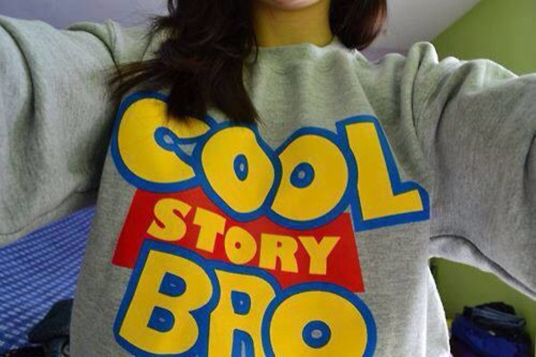 sweater cool story bro