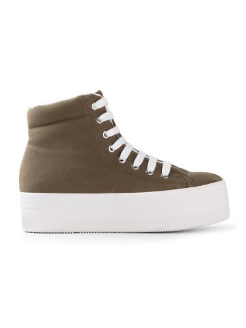 Jeffrey Campbell Hightop Platform Sneakers! — Bib   Tuck | Keep.com