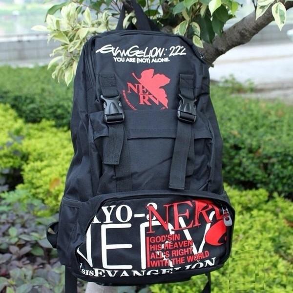 bag backpack anime evangelion