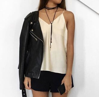 jewels rope necklace jewelry choker necklace black choker trendy style