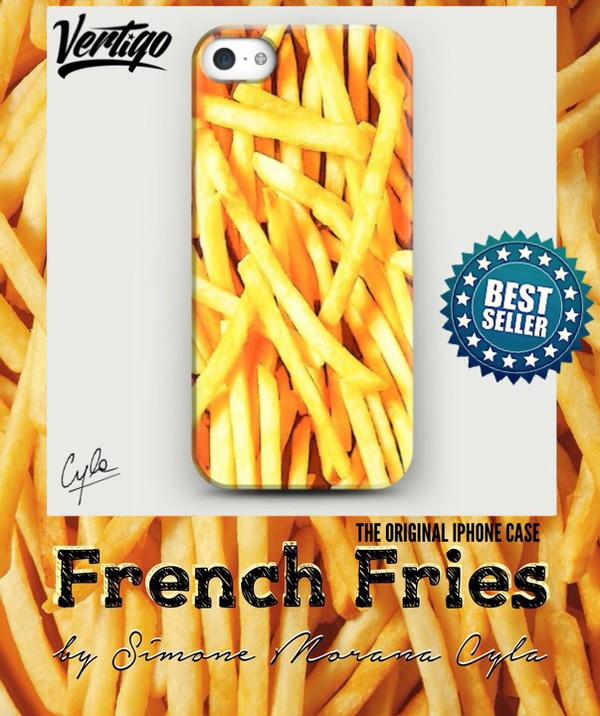 jewels fries fashion foodie girly iphone case eat alot sleep alot