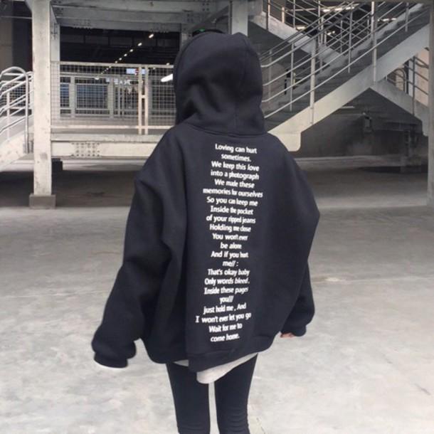 Jacket black ulzzang korean fashion asian aesthetic - Wheretoget
