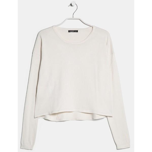 MANGO Cropped sweater - Polyvore