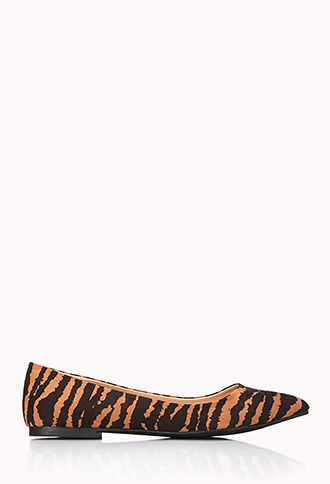 Wild Thing Pointed Flats   FOREVER21 - 2040495692
