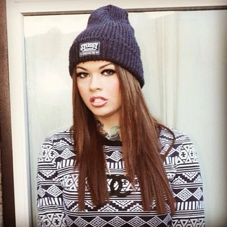 hat beanie stussy obey swag young cute beautiful supreme beanie skater american sweater