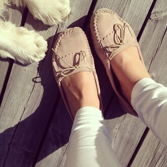 shoes moccasins