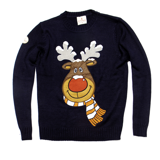 Rudolph the Reindeer Christmas Sweater from Funky Christmas Sweaters
