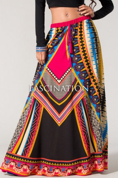 New Fashion Flying Tomato Bohemian Boho Chic Floor Length Maxi Skirt s M L | eBay