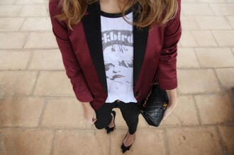 my daily style t-shirt jacket coat sunglasses bag shoes