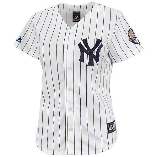 New York Yankees Mariano Rivera Commemorative Patch Women's Player Replica Jersey - MLB.com Shop