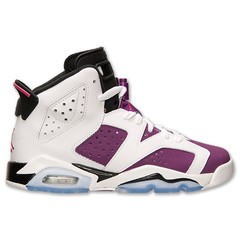 WindyCitySole - GIRLS AIR JORDAN RETRO 6 GRAPE GS